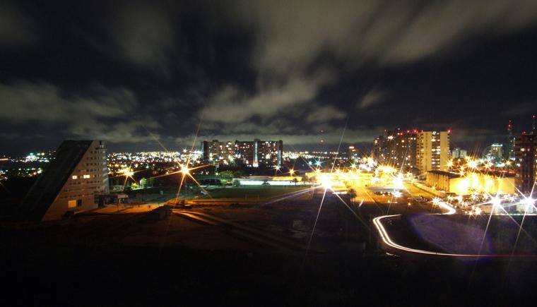 Ciudad Guayana de noche