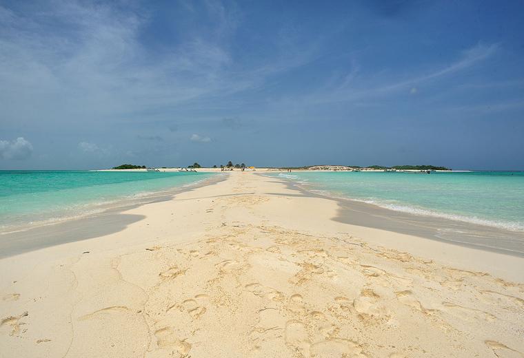 """Playa """"Cayo de Agua"""" Los Roques"""